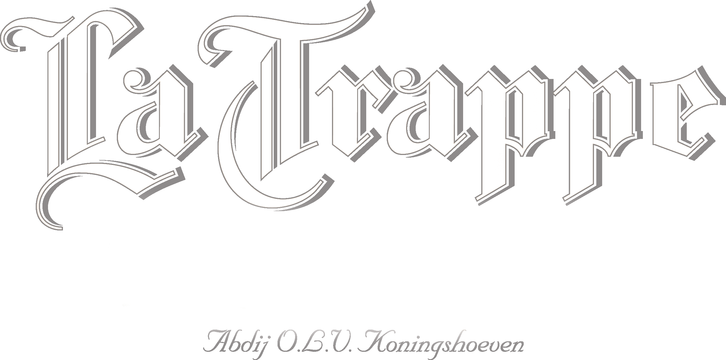 La Trappe Logo White, craft beer australia, beer importers australia, sour beer